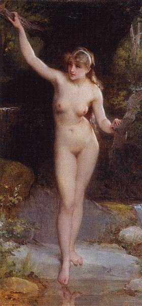 munier nd 8 la baigneuse